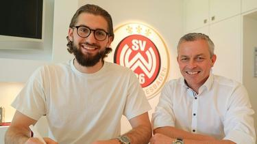 Lukas Watkowiak unterschreibt bei Wehen Wiesbaden