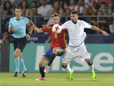 Saúl fue el auténtico héroe en las semifinales de Polonia. (Foto: Getty)