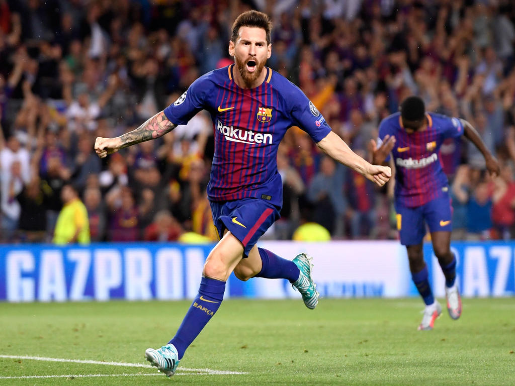 Messi volvió a brillar en Champions, esta vez contra la Juve. (Foto: Getty)