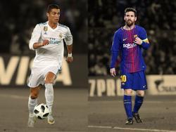 Das Duell Real gegen Barca ist auch das Duell von CR7 gegen Messi
