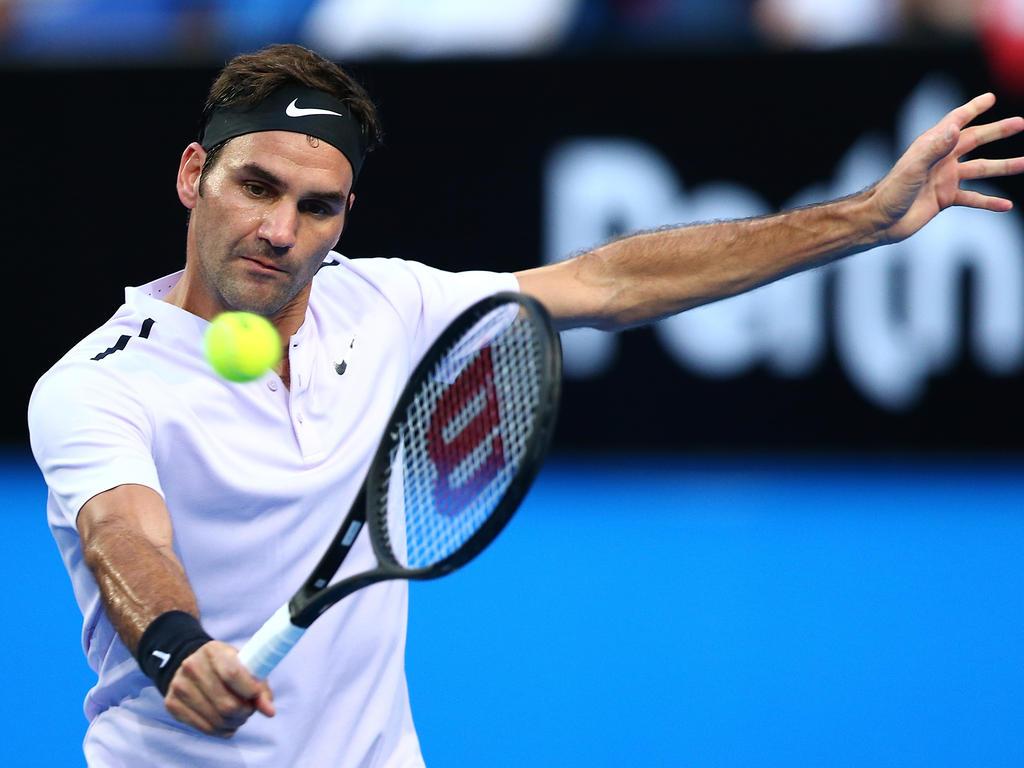 Roger Federer hat seine Topform einmal mehr unterstrichen