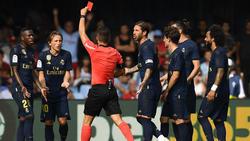 Luka Modric sah die Rote Karte