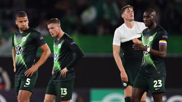 Der VfL Wolfsburg haderte trotz des Sieges in der Europa League