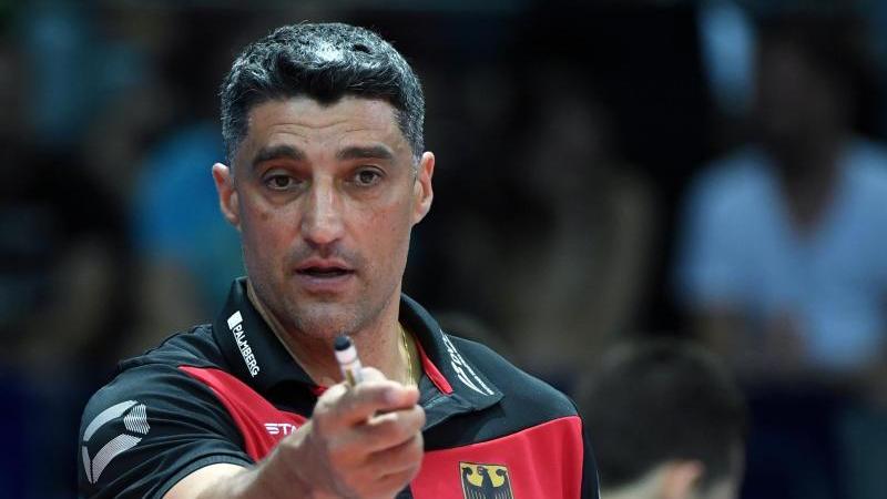 Andrea Giani ist der Trainer der deutschen Volleyballer