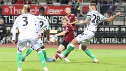 Der 1. FC Nürnberg und Hannover 96 trennten sich mit einem Remis
