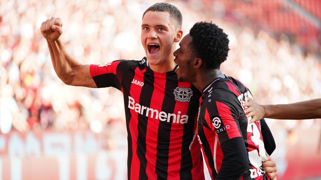 Bayer Leverkusen setzt sich in der Spitzengruppe fest