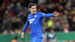 Sebastian Rudy kann beim Spiel in Gladbach zu Hoffenheims Rekordspieler werden