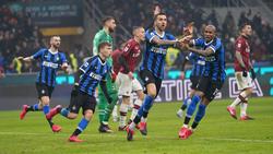 Inter gewinnt Derby gegen AC Milan