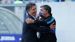 Hertha-Coach Labbadia freute sich über den Sieg über Union