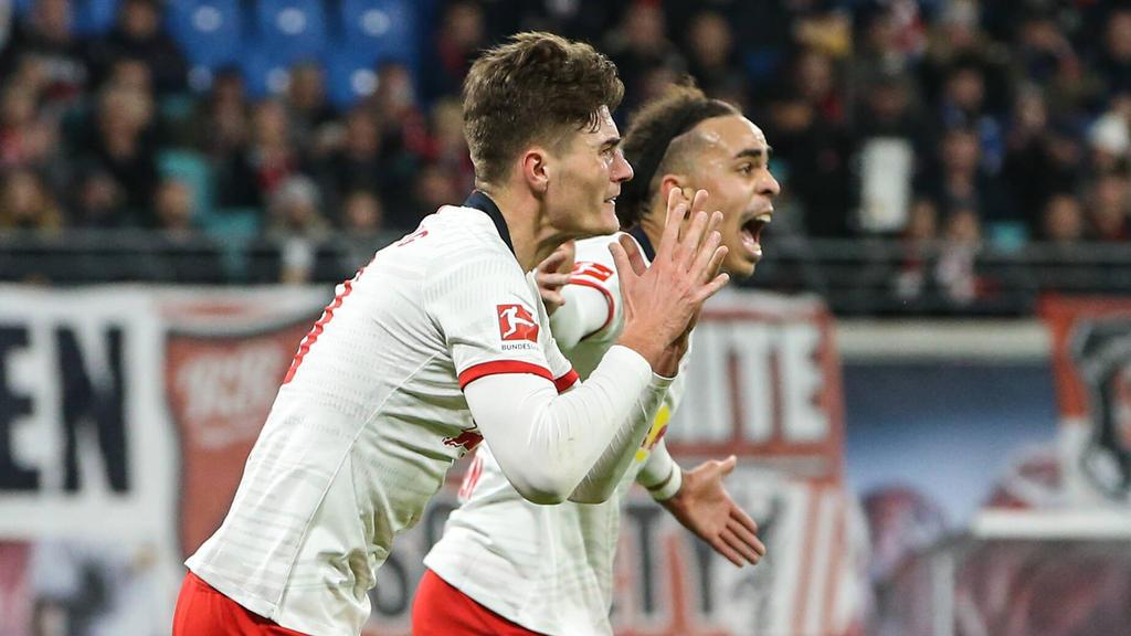 Wer läuft für RB Leipzig in der Champions League im Sturm auf?