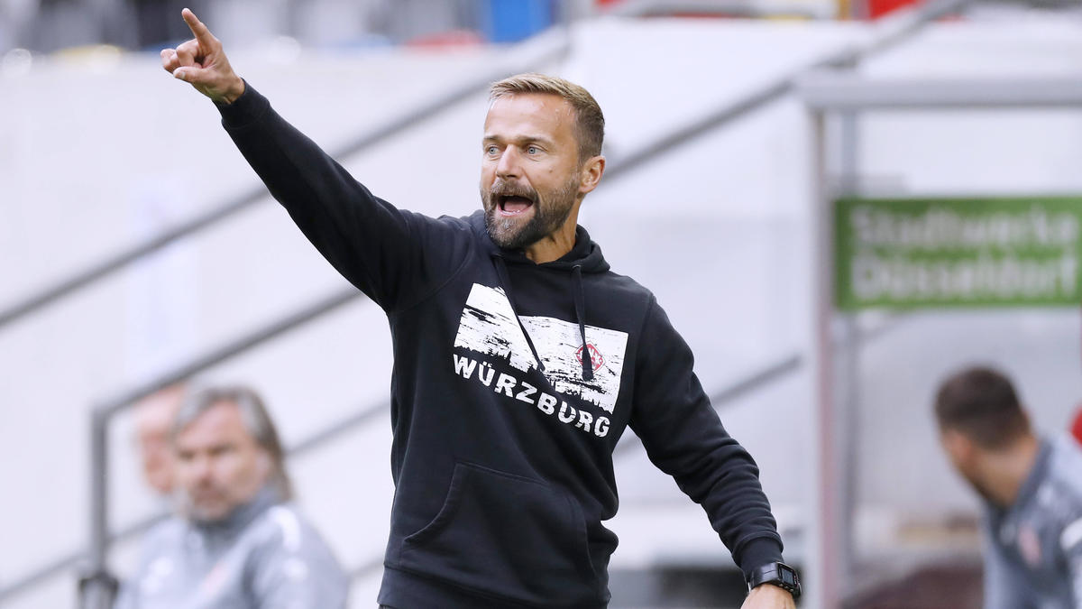 Michael Schiele ist nicht mehr Trainer der Würzburger Kickers