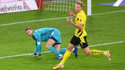 BVB-Torjäger Erling Haaland vergab eine dicke Chance gegen den FC Bayern