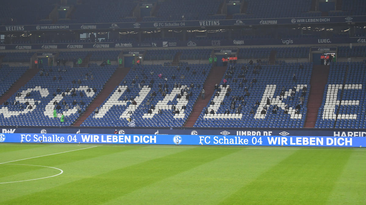 Einige Fans des FC Schalke 04 haben ihrem Unmut Luft gemacht (Symbolbild)