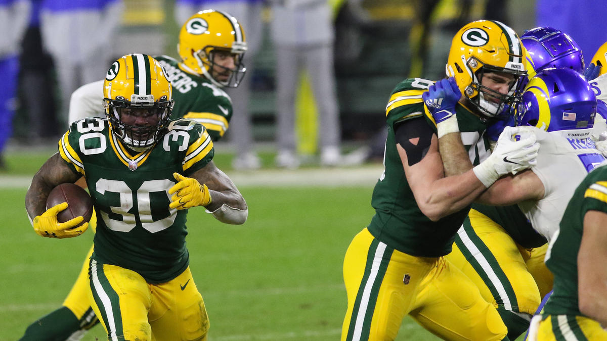 Die Green Bay Packers bezwangen die LA Rams
