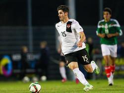 2015 trug Mujakić den ÖFB-U20-Teamdress beim 4:1-Sieg gegen Mexiko