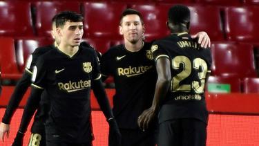 Der FC Barcelona setzte sich gegen Granada durch