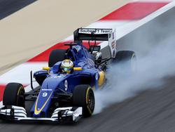 Marcus Ericsson in seinem Sauber