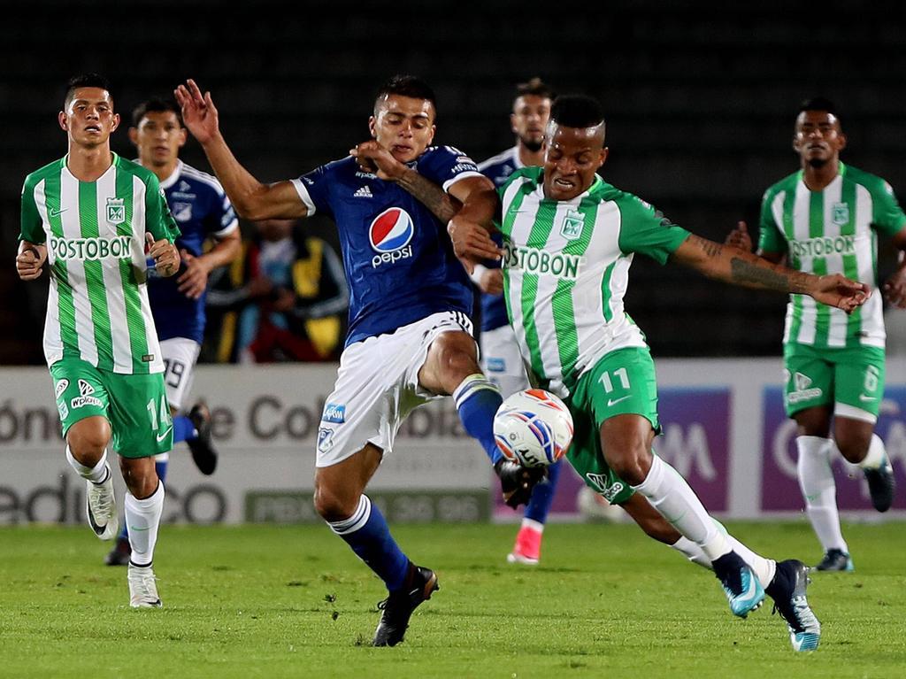 Nacional y Millonarios están clasificados directamente a la fase de grupos de la Copa Libertadores-2018. (Foto: Imago)