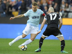 Immobile gegen Udinese