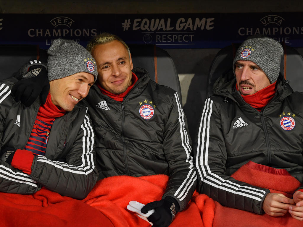 Arjen Robben, Rafinha und Frank Ribéry spielen womöglich auch im kommenden Jahr für den FCB