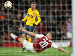Griezmann marcó en la ida el único gol del Atleti en el Emirates. (Foto: Getty)
