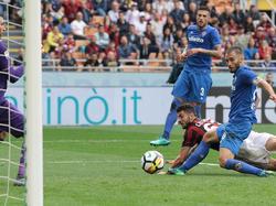 Milan demontiert Fiorentina