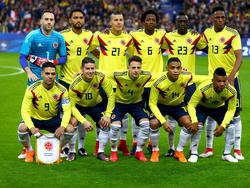 Once inicial de Colombia en el último amistoso ante Francia en marzo. (Foto: Getty)