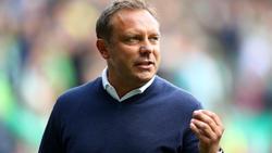 Trainer André Breitenreiter von Hannover 96 lobt den BVB