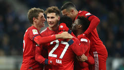 Leon Goretzka erzielte für den FC Bayern einen Doppelpack