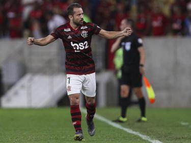 Éverton Ribeiro brilló con un doblete. (Foto: Getty)