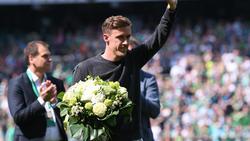 Max Kruse wurde in Bremen verabschiedet