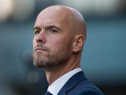 FC Utrecht-trainer Erik ten Hag tijdens de wedstrijd tegen Go Ahead Eagles. (15-10-2016)