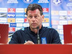 Michael Skibbe trainiert die griechische Nationalmannschaft