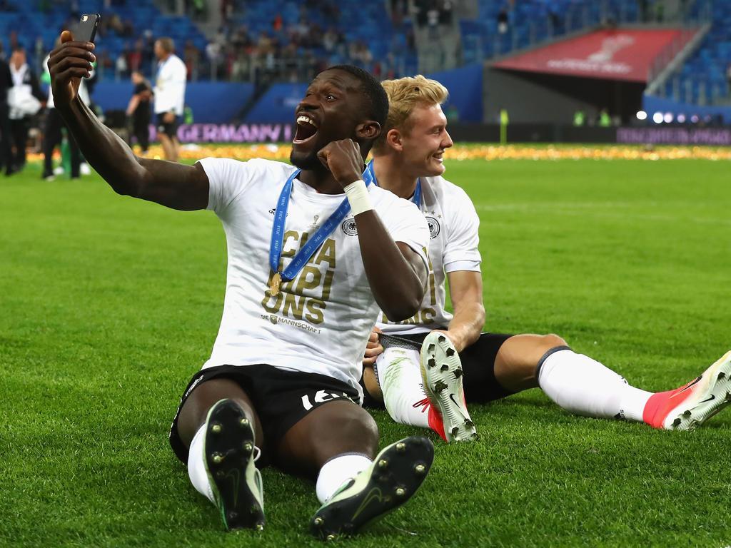 Schlägt vor seiner ersten Saison beim FC Chelsea leise Töne an: Antonio Rüdiger