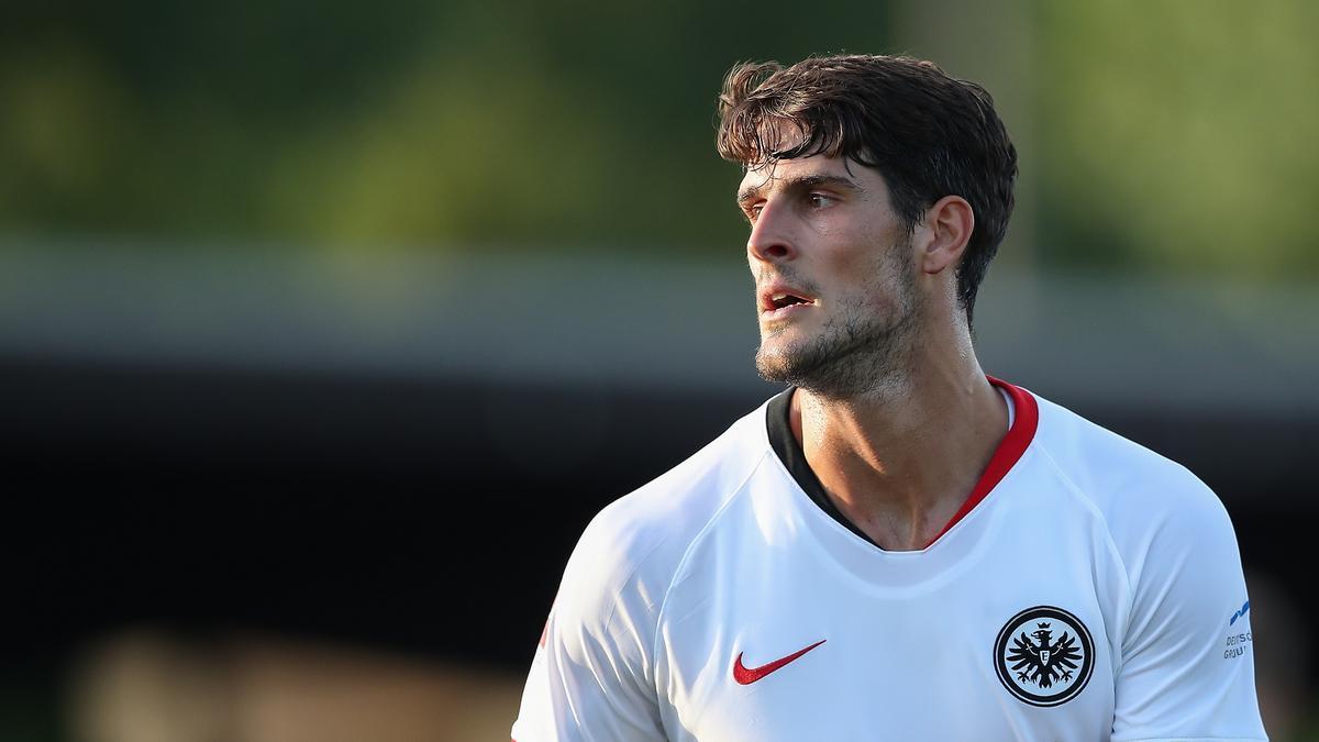 Goncalo Paciência erzielt das 3:1 für Eintracht Frankfurt gegen den FC Luzern