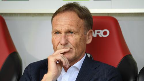 BVB-Boss Hans-Joachim Watzke hat Abgänge nahegelegt