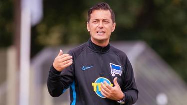 Ante Covic ist der neue Coach von Hertha BSC