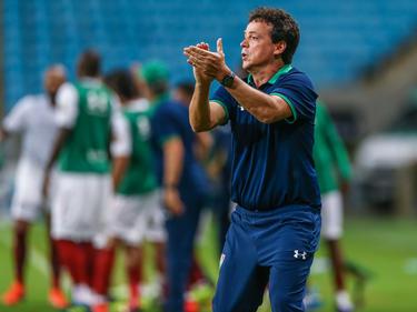 Fernando Diniz en un duelo de mayo.