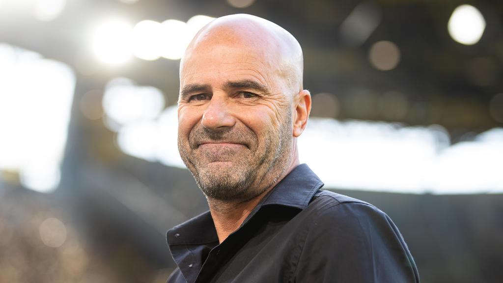 Fühlt sich wohl in Leverkusen: Peter Bosz