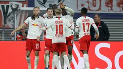RB Leipzig feierte einen Sieg gegen Zenit St. Petersburg