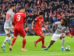 Die Bayern wollen den Sieg gegen Olympiakos