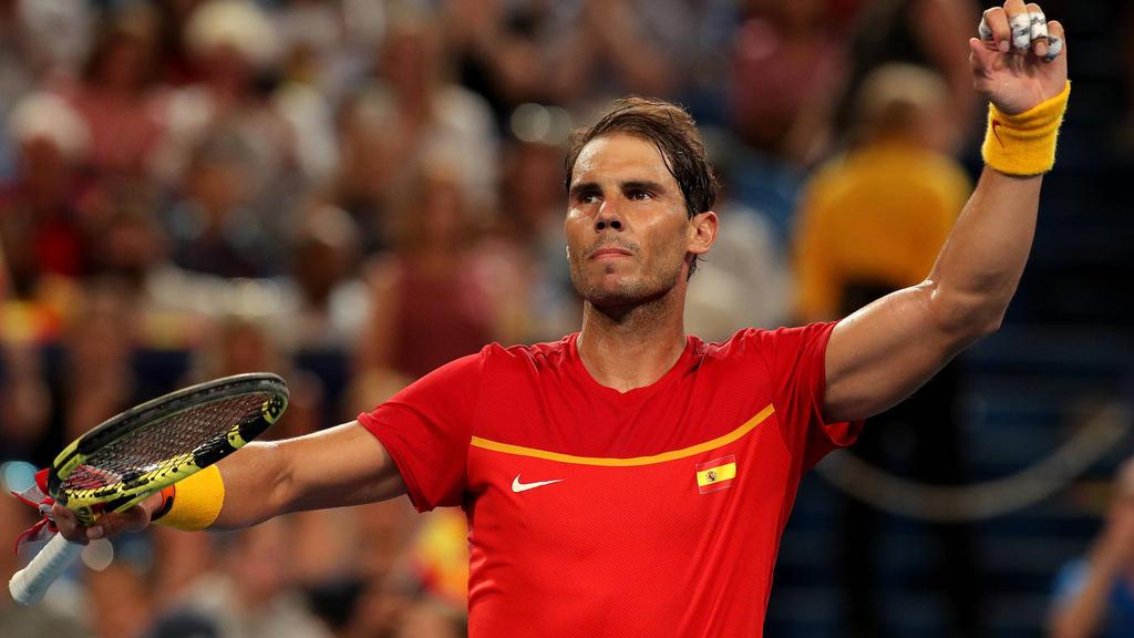 Rafael Nadal bleibt nach zweitem Spiel makellos