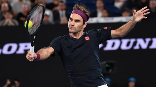 Roger Federer steht im Viertelfinale von Melbourne