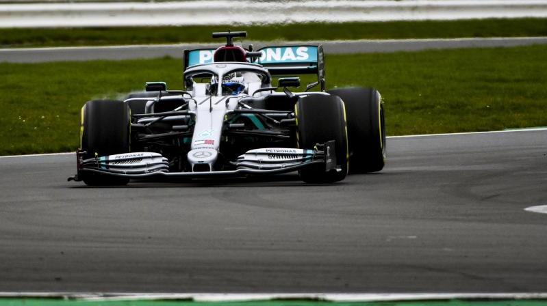Valtteri Bottas darf zuerst im neuen Mercedes fahren