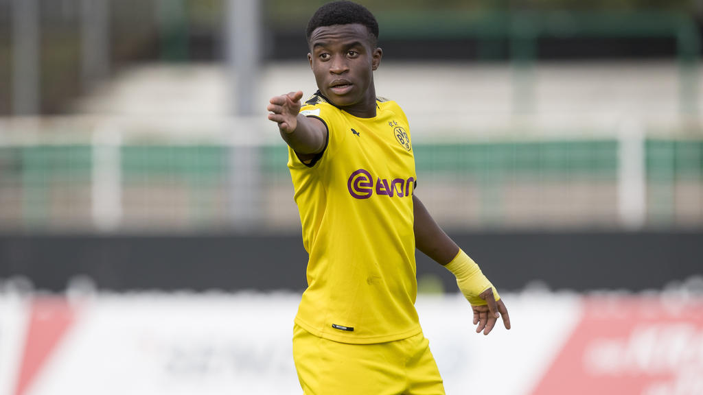 Youssoufa Moukoko geht schon bald für das DFB-Team auf Tore-Jagd