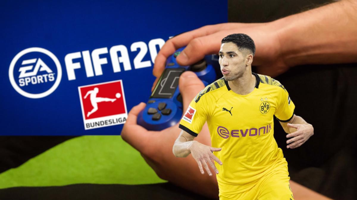 Die Bundesliga-Stars haben sich in FIFA duelliert