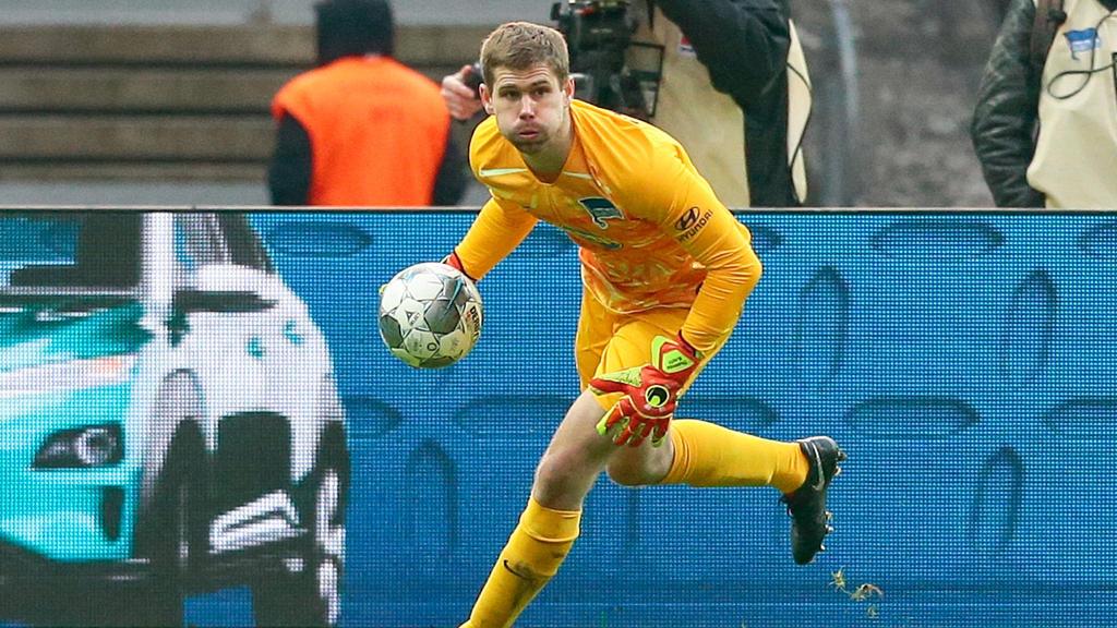 Hertha-BSC-Torwart Thomas Kraft beendet seine Fußball-Karriere