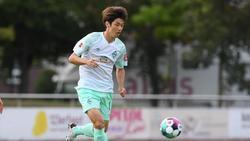 Yuya Osako ist der einzige Nationalspieler den Werder Bremen zu seiner Nationalmannschaft reisen lässt