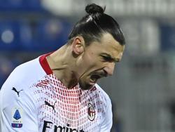 Zlatan Ibrahimović ist beim AC Milan nicht aufzuhalten