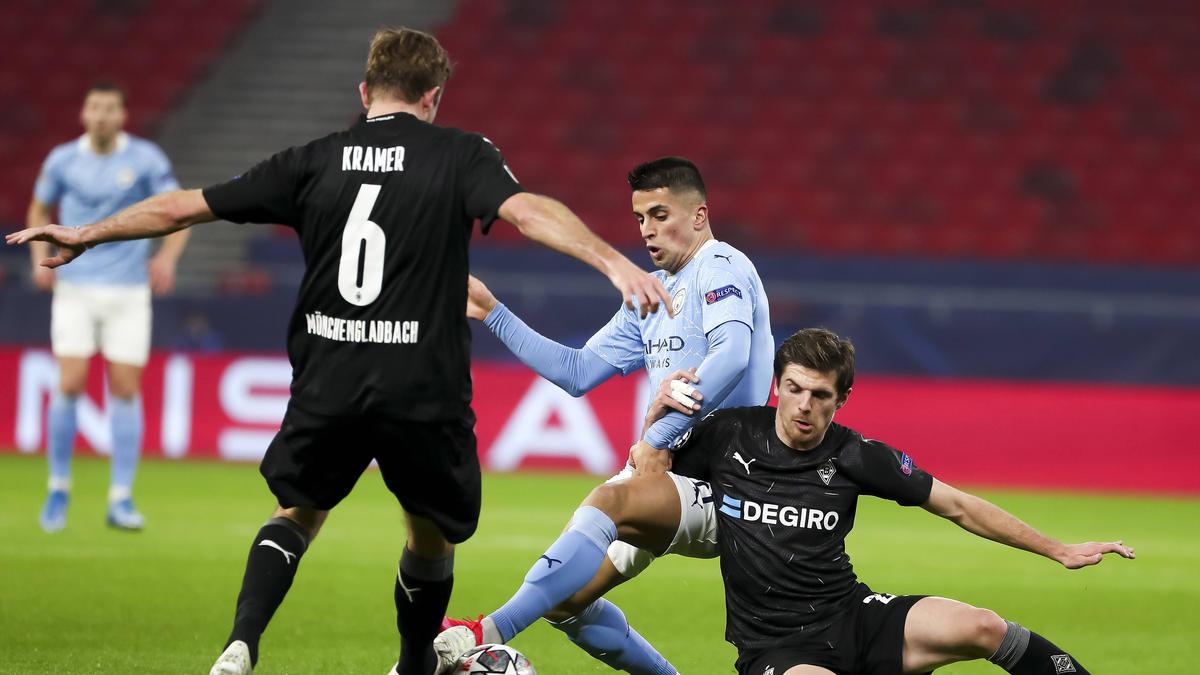 Gladbach verliert das Achtelfinal-Hinspiel gegen Manchester City